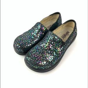 Alegria jacinta clog kel 484 iridescent shoe 39